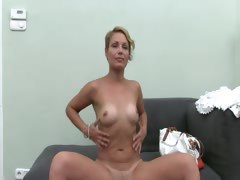 Hot woman masturbate with...