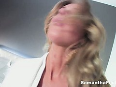 Naughty BTS With Wet Samantha