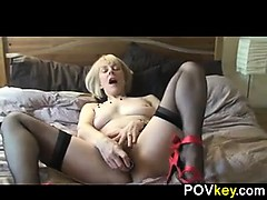 Mature Blonde Woman From...
