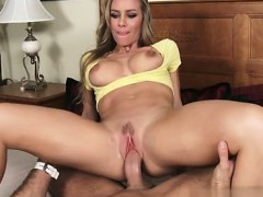 Horny girl sex at home
